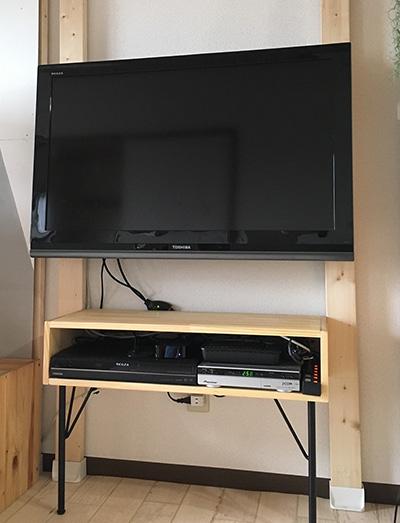 テレビを取り付ける