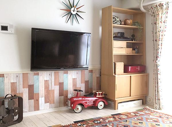 壁美人で賃貸でも壁掛けテレビが実現