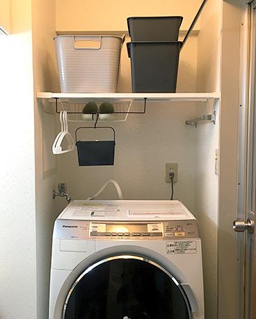 ラブリコで洗面所収納DIY