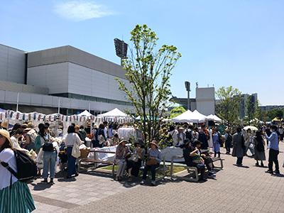 東京蚤の市 会場の様子