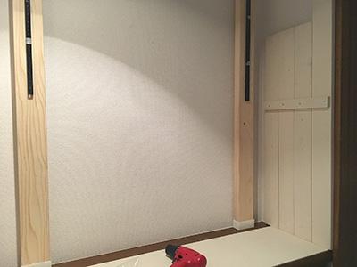 天板を敷く
