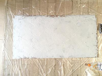 漆喰壁完成