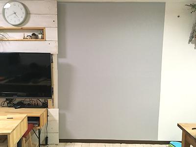 壁紙貼り完了