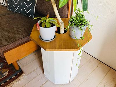 観葉植物用プランターカバー