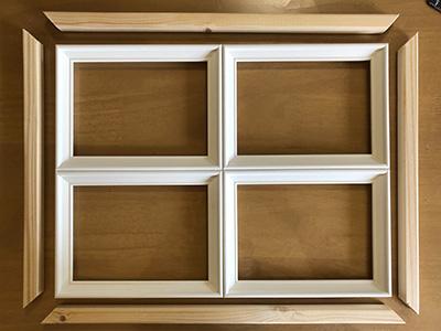 窓枠を作る