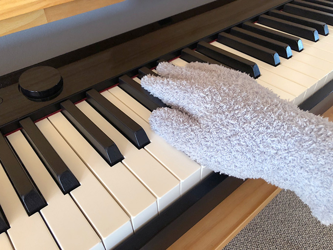 電子ピアノの掃除